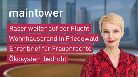 """Die Themen bei """"maintower"""" am 15. Oktober"""