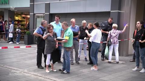 Versuchter Raubüberfall bei einem Juwelier  in der Kasseler Innenstadt – Täter auf der Flucht