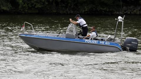 Polizeiboot Main Frankfurt