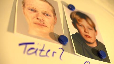 Fotos von Tristan und dem mutmaßlichen Täter