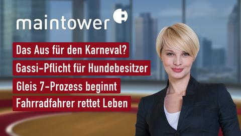 """Die Themen bei """"maintower"""" am 19. August"""
