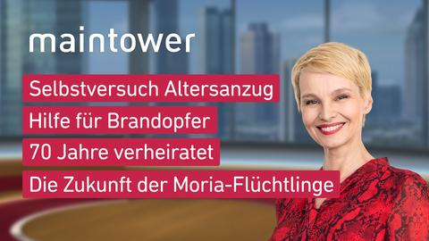 "Die Themen bei ""maintower"" am 17. September"