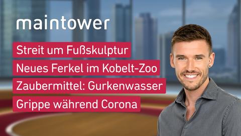 """Die Themen bei """"maintower"""" am 22. Oktober."""