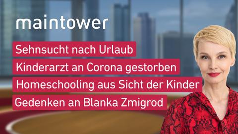 """Die Themen bei """"maintower"""" am 23. Februar"""