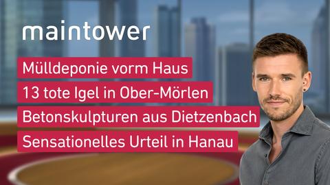 "Die Themen bei ""maintower"" am 24. September"