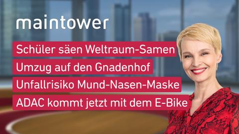 """Die Themen bei """"maintower weekend"""" am 19.09.2020"""