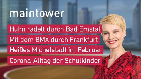 Themen sind u.a.: Huhn radelt durch Bad Emstal, Mit dem BMX durch Frankfurt, Heißes Michelstadt im Februar, Corona-Alltag der Schulkinder.
