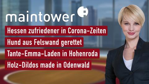 """Die Themen bei """"maintower"""" vom 14.05.2020"""