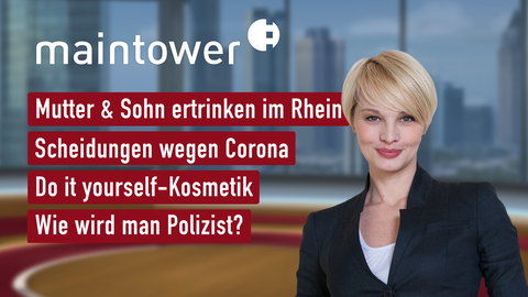 Themen sind u.a.: Mutter und Sohn etrinken im Rhein, Scheidungen wegen Corona, Do it yourself-Kosmetik, Wie wird man Polizist?