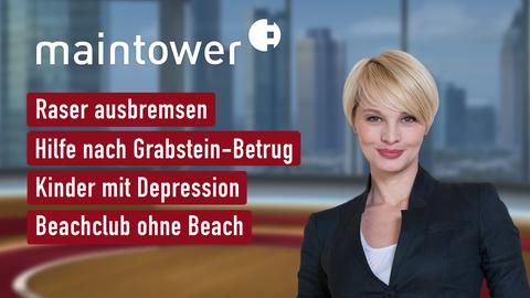Themen sind u.a.: Raser ausbremsen, Hilfe nach Grabstein-Betrug, Kinder mit Depression, Beachclub ohne Beach.