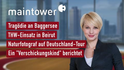 """Themen sind: Tragödie an Baggersee, THW-Einsatz in Beirut, Naturfotograf auf Deutschland-Tour, Ein """"Verschickungskind"""" berichtet."""
