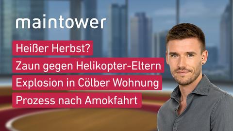 Themen sind u.a: Heißer Herbst?, Zaun gegen Helikopter-Eltern, Explosion in Cölber Wohnung, Prozess nach Amokfahrt.