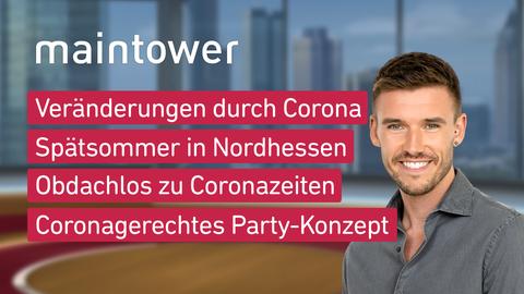 Themen sind u.a.: Veränderungen durch Corona, Spätsommer in Nordhessen, Obdachlos zu Coronazeiten, Coronagerechtes Party-Konzept.