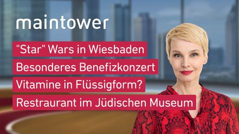"""Themen sind u.a.: """"Star"""" Wars in Wiesbaden, Besonderes Benefizkonzert, Vitamine in Flüssigform?, Restaurant im Jüdischen Museum."""