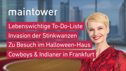 Themen sind u.a.: Lebenswichtige To-Do-Liste, Invasion der Stinkwanzen, Zu Besuch im Halloween-Haus, Cowboys & Indianer in Frankfurt.