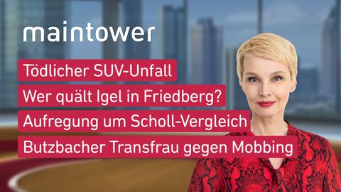Themen sind u.a.: Tödlicher SUV-Unfall, Wer quält Igel in Friedberg?, Aufregung um Scholl-Vergleich, Butzbacher Transfrau gegen Mobbing.
