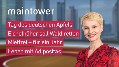 Themen sind u.a.: Tag des deutschen Apfels, Eichelhäher soll Wald retten, Mietfrei – für ein Jahr, Leben mit Adipositas.