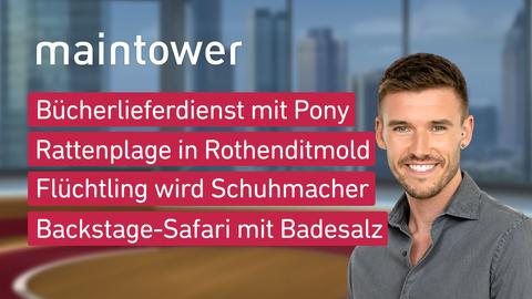 Themen sind u.a.: Bücherlieferdienst mit Pony, Rattenplage in Rothenditmold, Flüchtling wird Schuhmacher, Backstage-Safari mit Badesalz.