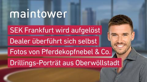 Themen sind u.a.: SEK Frankfurt wird aufgelöst, Dealer überführt sich selbst, Fotos von Pferdekopfnebel & Co., Drillings-Porträt aus Oberwöllstadt.