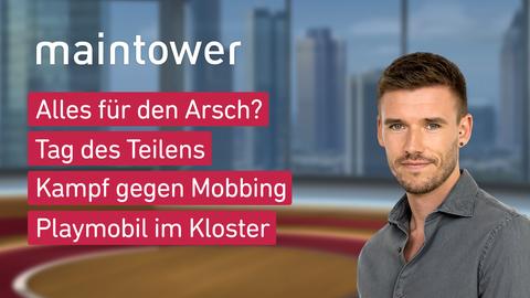 Themen sind u.a.: Alles für den Arsch?, Tag des Teilens, Kampf gegen Mobbing, Playmobil im Kloster.