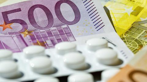 Geld für Medikamente