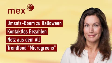 Themen sind u.a.: Umsatz-Boom zu Halloween, Kontaktlos Bezahlen, Netz aus dem All, Saatgut-Streit.