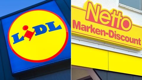 Lidl fährt eine aggressive Werbekampagne gegen Netto - und umgekehrt