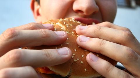 Zu viel Fast-Food ist ungesund
