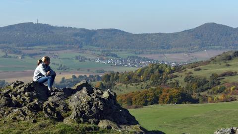 Die nordhessische Landschaft bei Dörnberg