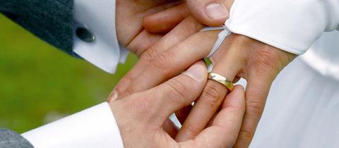 Viele lassen sich die Hochzeit viel Kosten