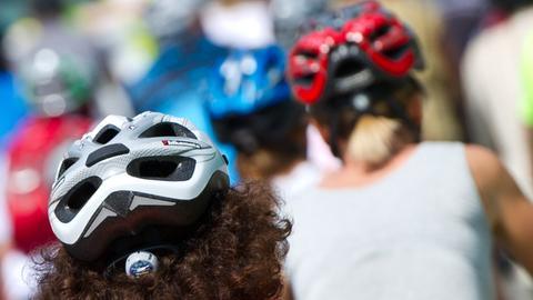 Radfahren mit passendem Zubehör