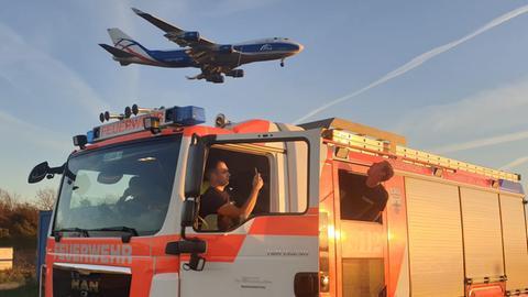 Wache 20: Die Feuerwehr am Flughafen.