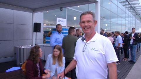 Dirk Härtel ist Frachtfahrer am Frankfurter Flughafen.