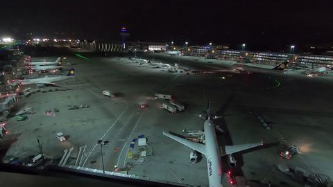 Zeitraffer am Flughafen Frankfurt