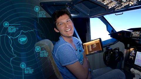 Fliegen von zuhause – Rocco und sein gigantischer Flugsimulator