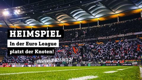 Eintracht-Fans im Stadion