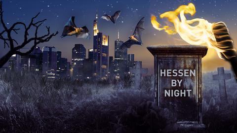 Hessen bei Nacht