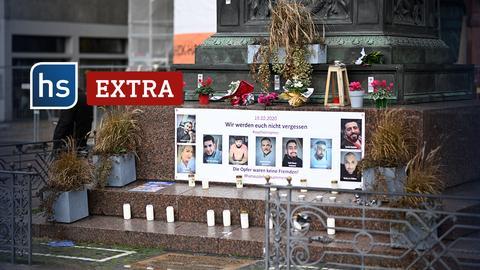 hessenschau extra: Gedenken an die Opfer von Hanau