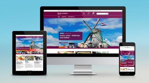 Die neue Webseite des hr-fernsehens
