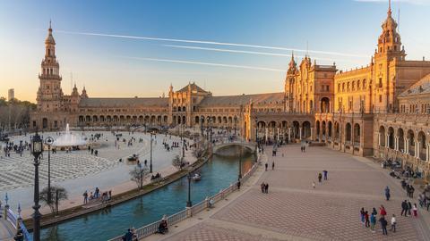 Platz in Sevilla