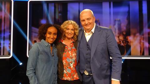 Rateteam: Jörg Thadeusz, Hadnet Tesfai, Susanne Fröhlich