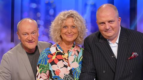 Bodo Bach, Susanne Fröhlich und Jörg Thadeusz