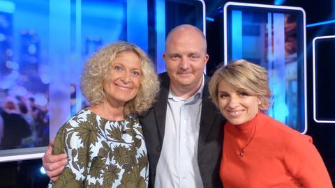 Jörg Thadeusz, Sabine Heinrich und Susanne Fröhlich