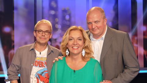 strassen stars Rateteam Jörg Thadeusz, Bettina Tietjen, Henni Nachtsheim
