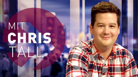 Comedian Chris Tall im strassen stars Studio