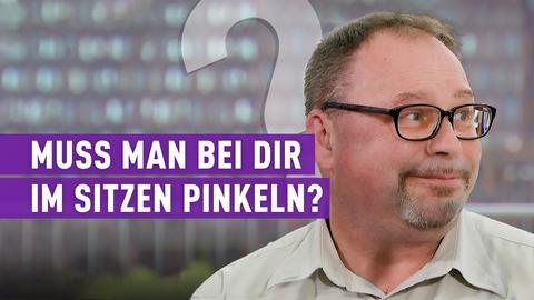 strassen stars (Wdh. vom 16.12.2018): Muss man bei dir im sitzen pinkeln?
