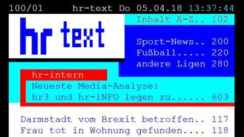 hr-Text