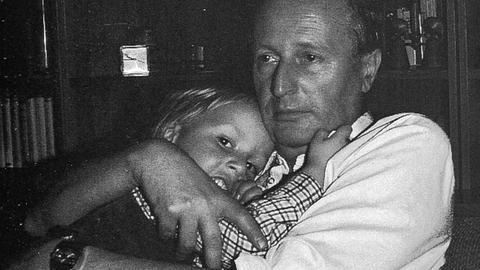Robert Lehmann und Großvater