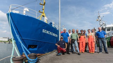 Expedition Senckenberg Forschungskutter