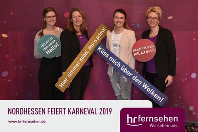Bildergalerie Fotobox Nordhessen Feiert Karneval 2019 Hr